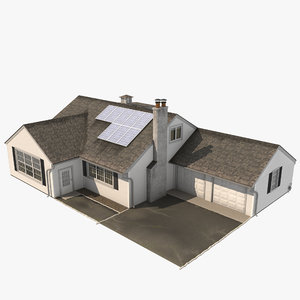 house new york 3D model