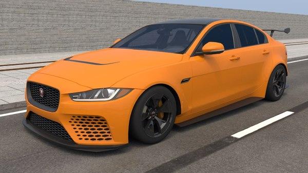 project xe sv 3D model