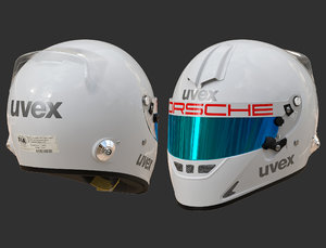 helmet uvex 3D model