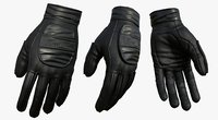 3D model fashion gloves