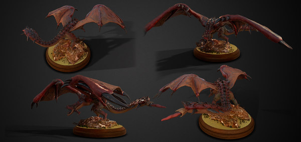 3D model rathalos