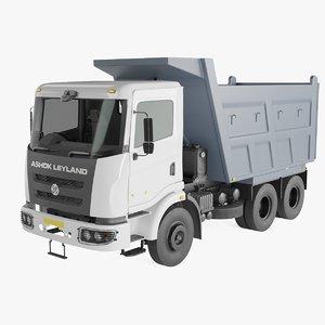 3D ashok leyland truck 2 model