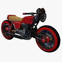 sci fi motorcycle model