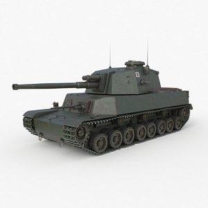 tank type 5 chi-r 3D model