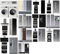 Set of kitchen appliances 63 pieces