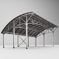 Metall carport 1