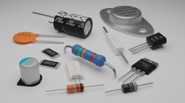 3D basic pack electronic components
