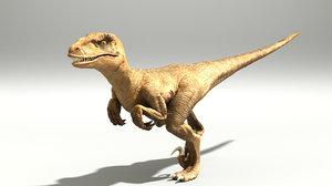max raptor arnold zbrush