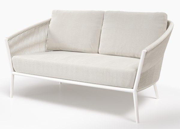 3D cosmo seating lounge 2-seater model