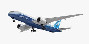boeing 787-8 dreamliner 3D model