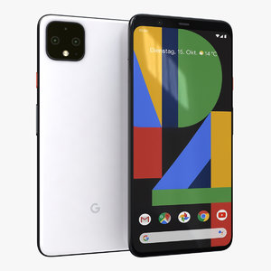google pixel 4 xl 3D model