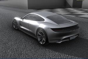 3D realistic exotic car