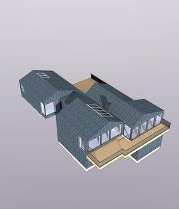 summer house 3D