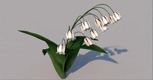 bell flower model
