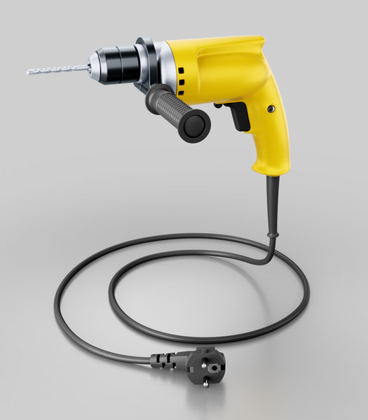 3D hand electric drill