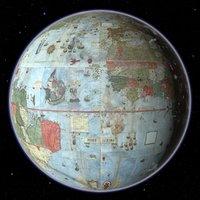 planet earth vatican 1587 3D model