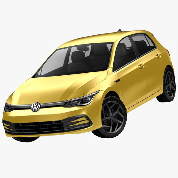 3D model volkswagen golf 2020