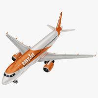 airbus easy jet 3D model