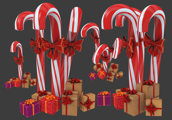 3D christmas candy gift