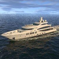 3D amels 200 yacht