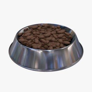 dog food 3D model