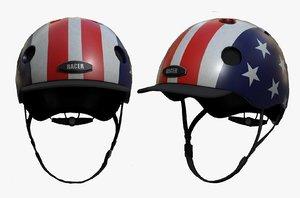3D helmet sport helm model