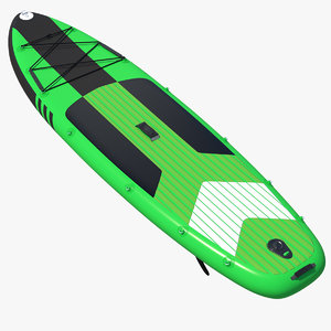 inflatable stand paddle board 3D