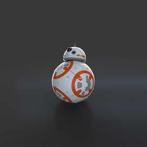 bb-8 droid 3D model