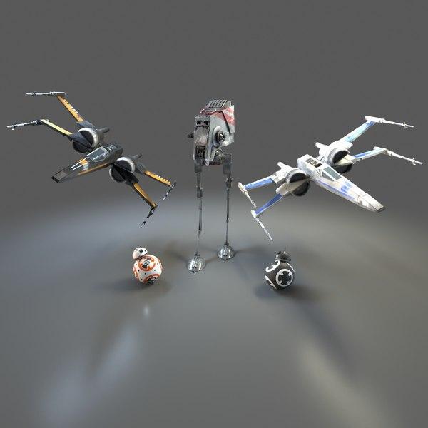 star wars droid model
