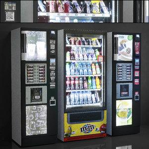 showcase 013 vending machine 3D model
