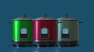 3D electric rice cookers