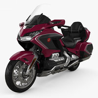 honda gold wing 3D model