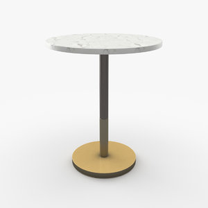 bistro table 3D
