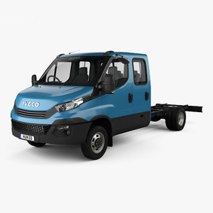 3D model iveco daily 2017