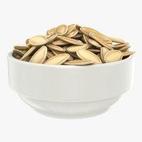 pumpkin seeds bowl model