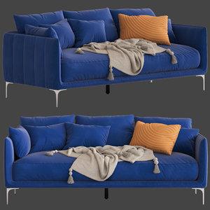 freedom andrea 3-seater sofa 3D model