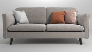 3D model sderhamn sofa