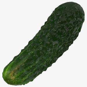 3D kirby cucumber 04