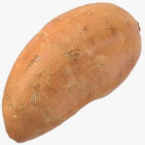 3D sweet potato 06 ready