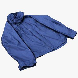 3D mens jacket
