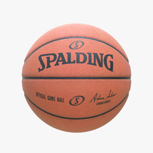 clean spalding basketball ball model