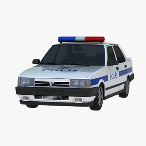 tofas dogan slx police 3D model