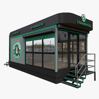 Starbucks Mobile Cafe