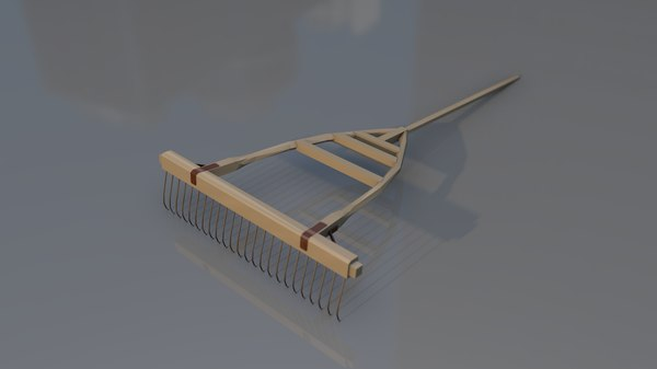 plow agriculture tool 3D