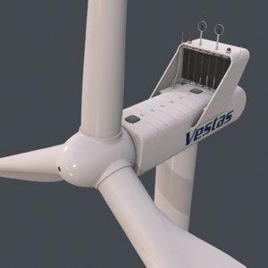 3D real-time wind turbine vestas