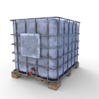 ibc container 3D