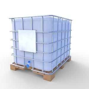 ibc container 2 3D