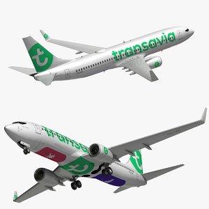 3D boeing transavia model