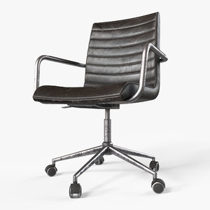 3D model chair designed pbr