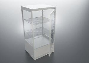 3D model mini fridge